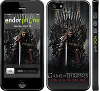 """Чехол на iPhone 5s Игра престолов 1 """"429c-21"""""""