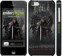 """Чехол на iPhone 5c Игра престолов 1 """"429c-23"""""""