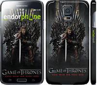 "Чехол на Samsung Galaxy S5 Duos SM G900FD Игра престолов 1 ""429c-62"""