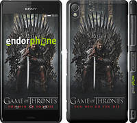 """Чехол на Sony Xperia Z3 D6603 Игра престолов 1 """"429c-58"""""""