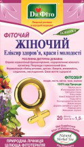 Фиточай Женский-элексир молодости, 20 пак.