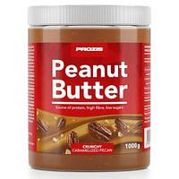Арахисовая паста Prozis Peanut Butter Caramelised Pecan Crunchy 1000 гр