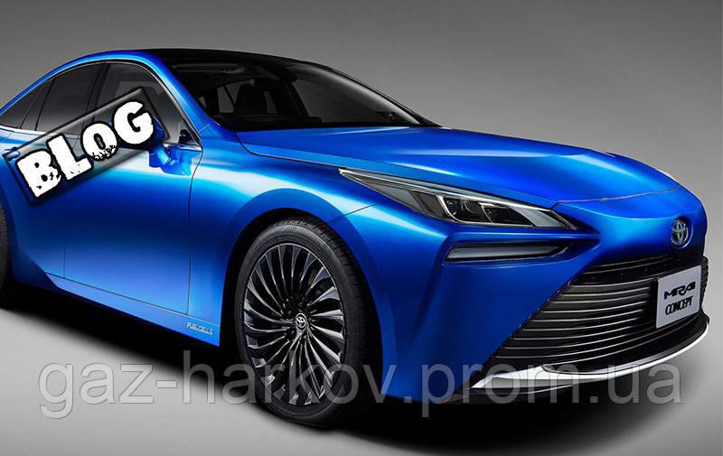 Toyota представила новый водородный седан.