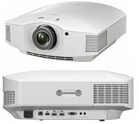 Проектор для домашнего кинотеатра Sony VPL-HW65ES, белый (SXRD, Full HD, 1800 ANSI Lm)