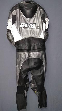 Мотокомбинезон FLM бу  кожа раздельный, фото 2
