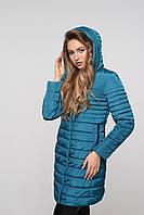 Удлиненная стильная женская куртка