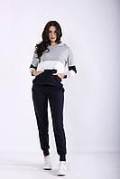 Темно-синий спортивный костюм | 01250-1 GARRY-STAR