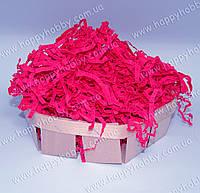 Бумажный наполнитель красно-рубиновый