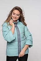 Легкая куртка с воротником-стойкой, фото 1