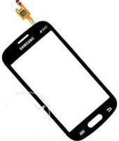 Touch screen Samsung G350e Galaxy Advance черный rev 0.4