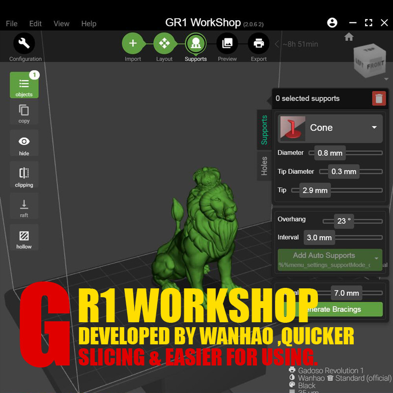 Программа GR1 WORKSHOP SOFTWARE