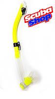 Трубка двухклапанная BS Diver Ultra Dry, желтая