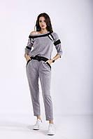 Серый спортивный костюм | 01252-1 GARRY-STAR