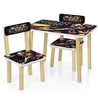 Детский столик с двумя стульчиками 501-54 для мальчиков,Трансформеры