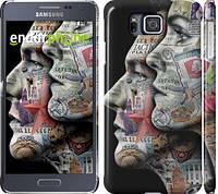 "Чехол на Samsung Galaxy Alpha G850F Американцы ""2648c-65"""