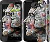 "Чехол на HTC One X+ Американцы ""2648c-69"""