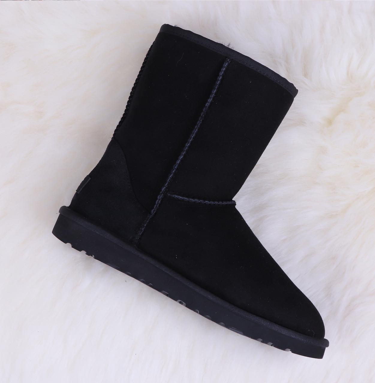 Женские Угги Ugg Classic Short Black