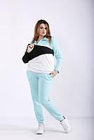 Мятный повседневный спортивный костюм | 01253-2 GARRY-STAR