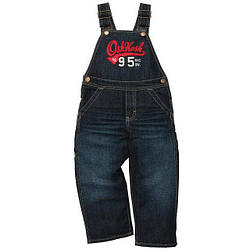 Полукомбинезон джинсовый для мальчика OshKosh
