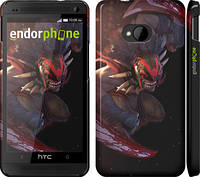 "Чехол на HTC One M7 Dota 2. Bloodseeker ""969c-36"""