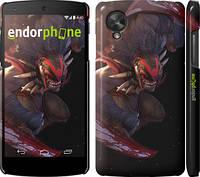 "Чехол на LG Nexus 5 Dota 2. Bloodseeker ""969c-57"""