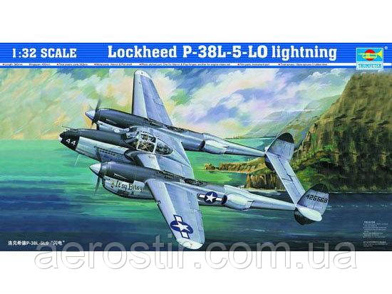 Lockheed P-38L-5-LO lightning 1/32 Trumpeter 02227