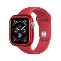 Чехол COTEetCI Aluminum Magnet Red для Apple Watch 44mm Series 5/4