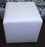 Пуф квадратный Стенли 40х40х43 см.,пуфик,пуфики,пуф кожзам,пуф экокожа,банкетка,банкетки,пуф куб,пуф, фото 7