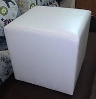 Пуф квадратный Стенли 40х40х43 см.,пуфик,пуфики,пуф кожзам,пуф экокожа,банкетка,банкетки,пуф куб,пуф, фото 9