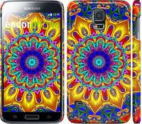 "Чехол на Samsung Galaxy S5 Duos SM G900FD Калейдоскоп ""1804c-62"""