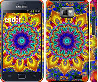 "Чехол на Samsung Galaxy S2 i9100 Калейдоскоп ""1804c-14"""