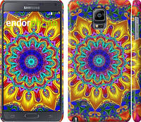 "Чехол на Samsung Galaxy Note 4 N910H Калейдоскоп ""1804c-64"""