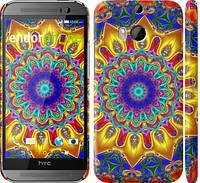 "Чехол на HTC One M8 dual sim Калейдоскоп ""1804c-55"""
