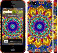 "Чехол на iPhone 5 Калейдоскоп ""1804c-18"""