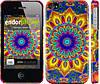 "Чехол на iPhone 4 Калейдоскоп ""1804c-15"""