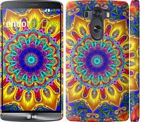 """Чехол на LG G3 dual D856 Калейдоскоп """"1804c-56"""""""