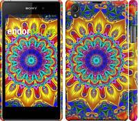 """Чехол на Sony Xperia Z1 C6902 Калейдоскоп """"1804c-38"""""""