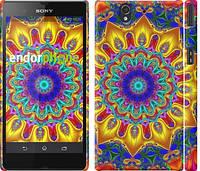 """Чехол на Sony Xperia Z C6602 Калейдоскоп """"1804c-40"""""""