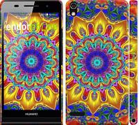 """Чехол на Huawei Ascend P6 Калейдоскоп """"1804c-39"""""""