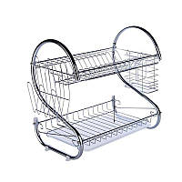 Стойка для хранения посуды kitchen storage rack | полка - сушилка для посуды