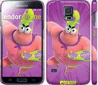 "Чехол на Samsung Galaxy S5 Duos SM G900FD Губка Боб v3 ""2620c-62"""