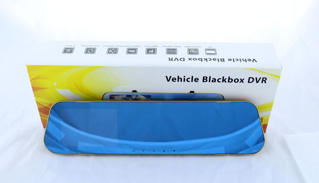 Автомобильный видеорегистратор DVR-DV460 на 2 камеры   авторегистратор   регистратор в авто