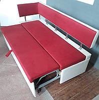 Кухонный диван с боковой спинкой и спальным местом «Тorino D»