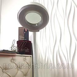 Лампа светодиодная напольная с лупой(Без регулировки яркости)