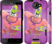 "Чехол на HTC One X Губка Боб v3 ""2620c-42"""
