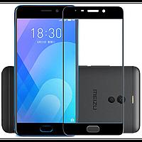 Захисне скло 5D (Full Glue) Meizu M6 Note Чорне