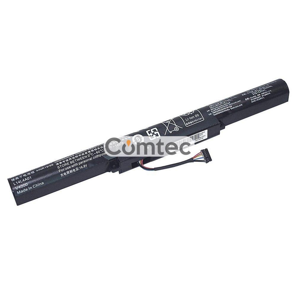 Аккумулятор для ноутбука Lenovo L14S4A01 V4000 14.4V черный 2200 mAh