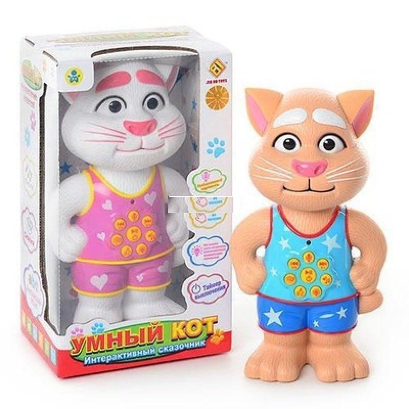 Говорящий Кот Том DB 2883-1 G2 интерактивная игрушка