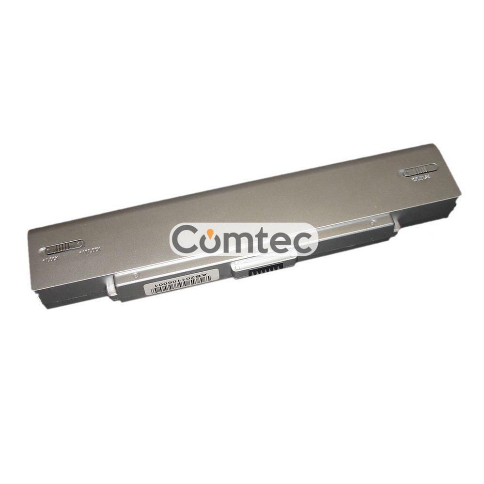 Аккумулятор для ноутбука Sony VGP-BPS9B VAIO VGN-NR260E 11.1V серебряный 4800 mAh