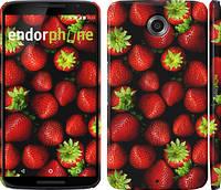 """Чехол на Motorola Nexus 6 Клубничка """"1165c-67"""""""